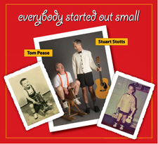 CD cover - Everybody started out small (with Tom Pease)
